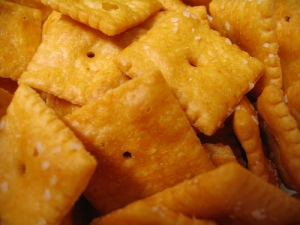 MmMmMmM Cheez-Its!