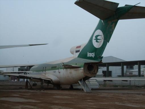 Iraqi airline. I hear they're hiring.