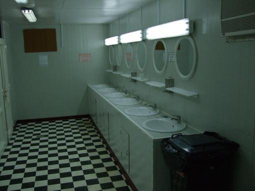 Iraqi bathroom sinks. Special.