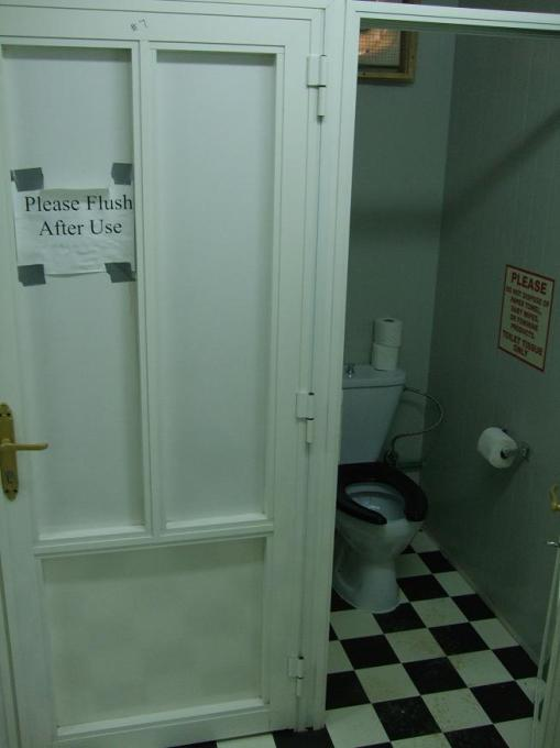 Iraqi toilet...with instructions. Potty training is no longer a part of army basic training